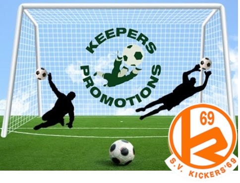 Gratis keepersclinic voor jeugdkeepers S.V. Kickers '69